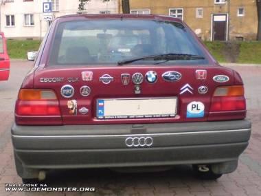 Podaj markę tego samochodu...