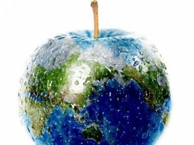 Jabłko - globus