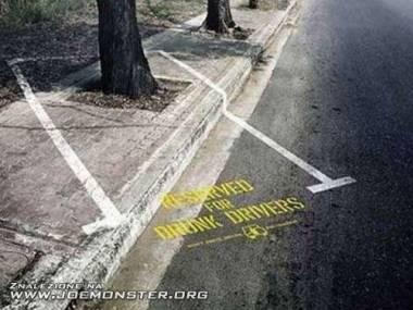 Parking dla będących pod wpływem