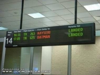 Batman wylądował