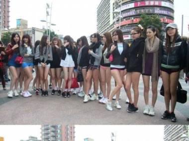 Dzień bez spodni na Tajwanie