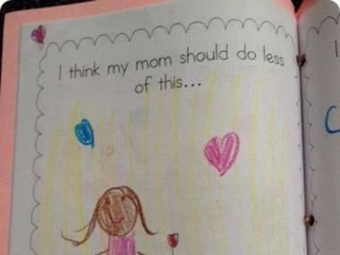 Moja mama powinna mniej...