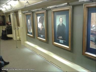 Odrobina kultury w metrze