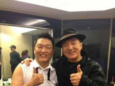 Jackie Chan i gangnam style