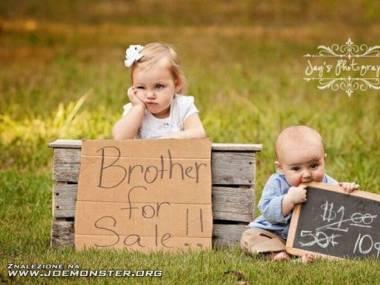 Sprzedam brata, niedrogo