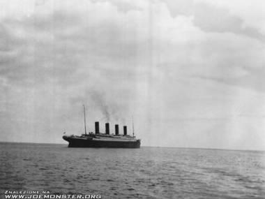 Ostatnie zdjęcie Titanica
