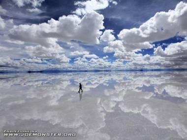 Wędrowiec wśród chmur