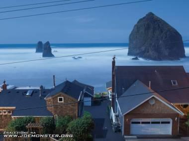 Cannon Beach w stanie Oregon