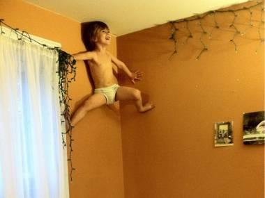 Mały człowiek-pająk
