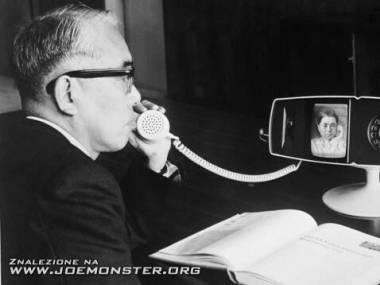 Wideofon Toshiba Model 500 - pierwowzór Skype'a