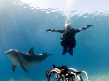 Pod wodą juz nie jest kaleką