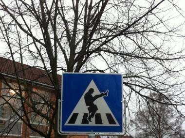 Przejście dla pieszych w Norwegii