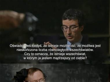 Stephen Hawking, mistrz ciętej riposty