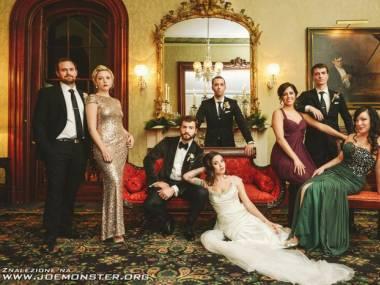 Ślubne zdjęcie z wielką klasą