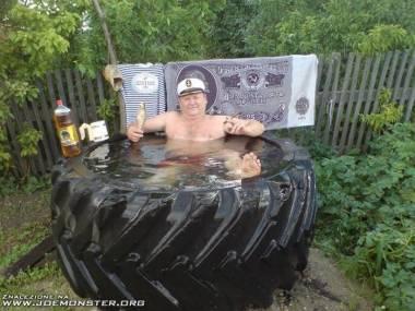 Rosyjski kapitan na wakacjach