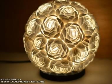 Lampa z muszelek