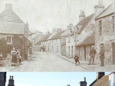Ta sama ulica 100 lat później