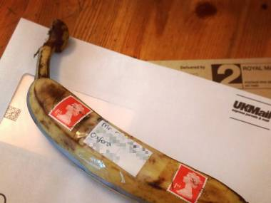 Brytyjska poczta dostarczy wszystko, byleby znaczek był na miejscu