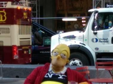 Homer Simpson taki, jakiego znamy i kochamy