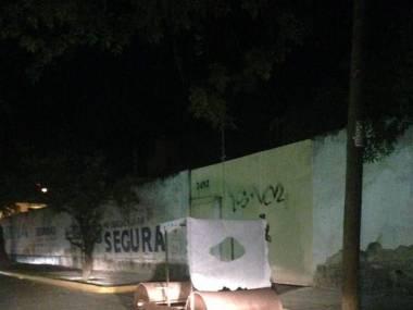 Jabadabadu na ulicach Meksyku