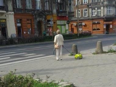 Dobrze mieć z kim na spacer wyjść