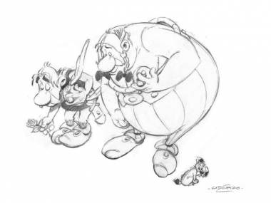 Oficjalne konto Asterixa na Tweeterze