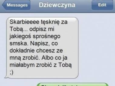 Sprośny SMS - realia