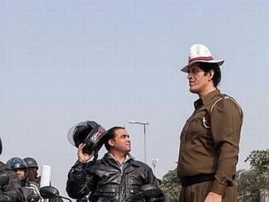 Najwyższy policjant w Indiach mierzący 212 cm