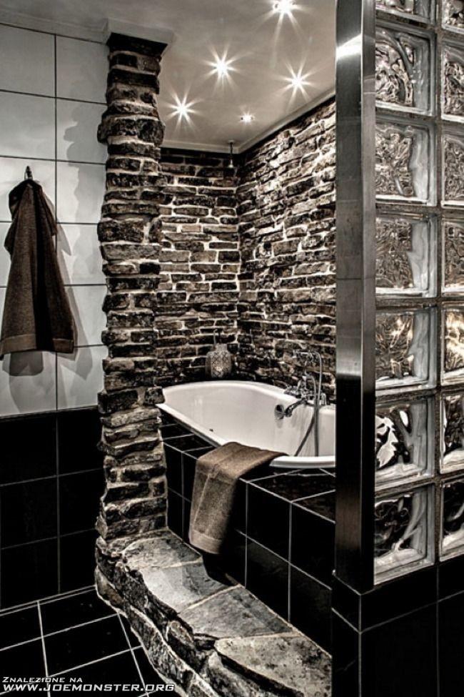 Oryginalny Pomysł Na Wygląd łazienki Joe Monster