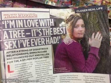 Zakochana w drzewie. Seks też jest boski