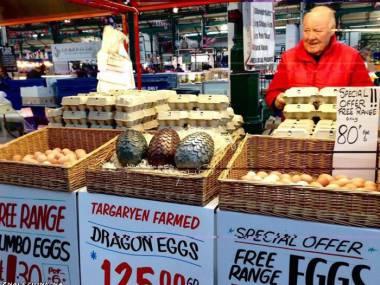 Smocze jaja - nie taki wielki rarytas jakby się wydawało