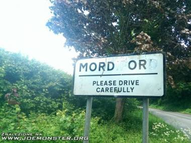 Mordor - jedź ostrożnie!