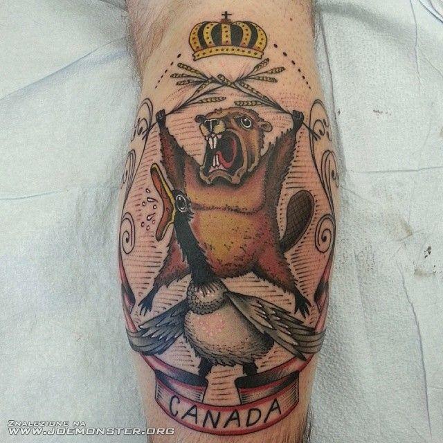 Mój Nowy Tatuaż Joe Monster