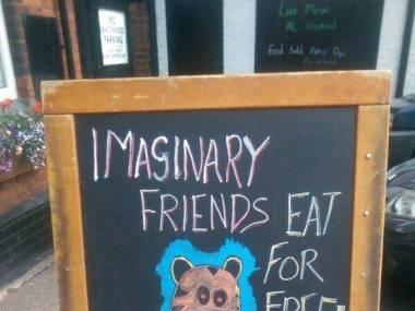 """""""Twoi wyimaginowani przyjaciele jedzą za darmo"""""""