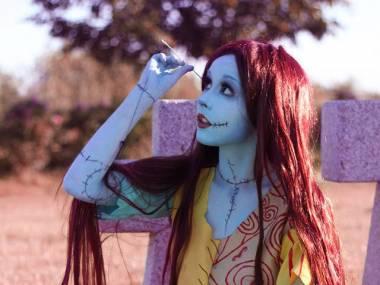 Sally Szkieleton z Miasteczka Halloween - cosplay