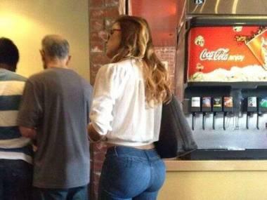Fast food formuje pośladki