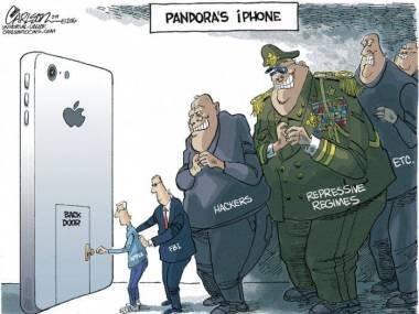 iPhone Pandory