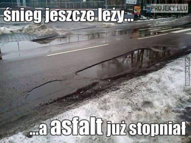 Wczesna wiosna na polskich drogach