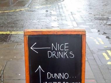 Fajne drinki vs niedźwiedzie. Wybór jest oczywisty