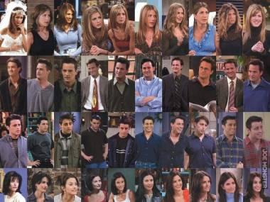 Jak zmieniali się Przyjaciele w ciągu 10 sezonów