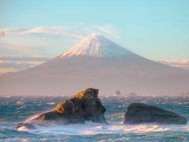 Góra widziana z morza