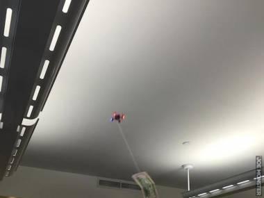 Drażnił ludzi w biurze