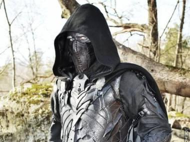 Mroczny elf cosplay