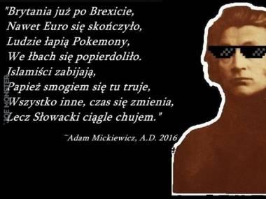 Mickiewicz o aktualnych wydarzeniach i o Słowackim
