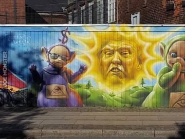 Graffiti w Kopenhadze