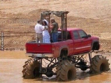 Wesele na głębokiej amerykańskiej wsi