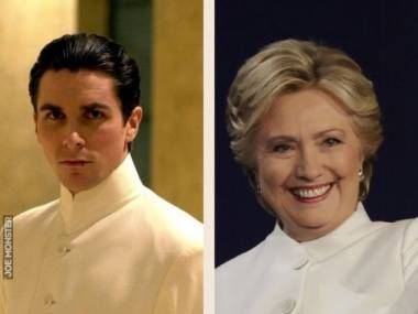 Clinton jak Bale: przygotowana na decydujące starcie