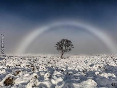 Biała tęcza nad Szkocją