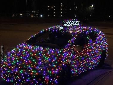 Najlepiej widoczna taksówka w mieście