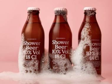 Piwko pod prysznic